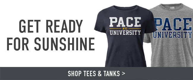 Picture of shirts. Get ready for sunshine. Click to shop Tees & Tanks.